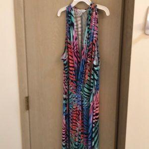 This Tommy Bahama dress is gorgeous! Multi-color